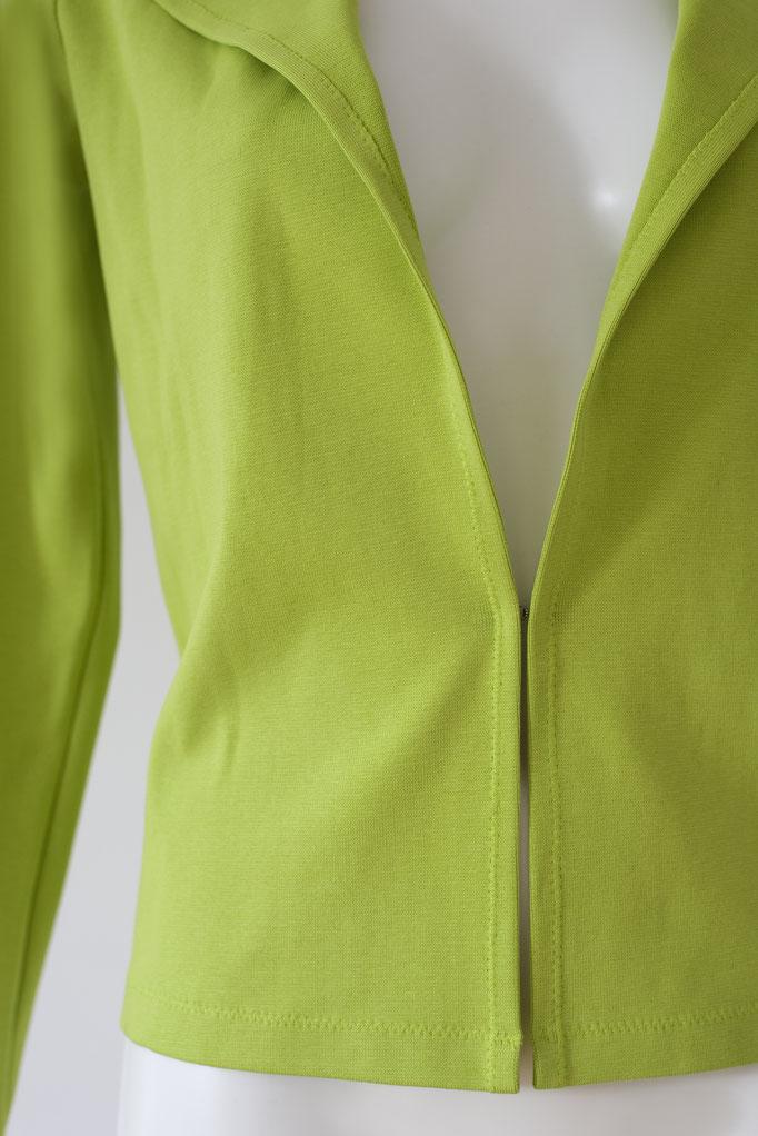 Basic Jacke Kurz Kiwi, 96% Bio- BW (GOTS), Gr. 36- 44, 129€