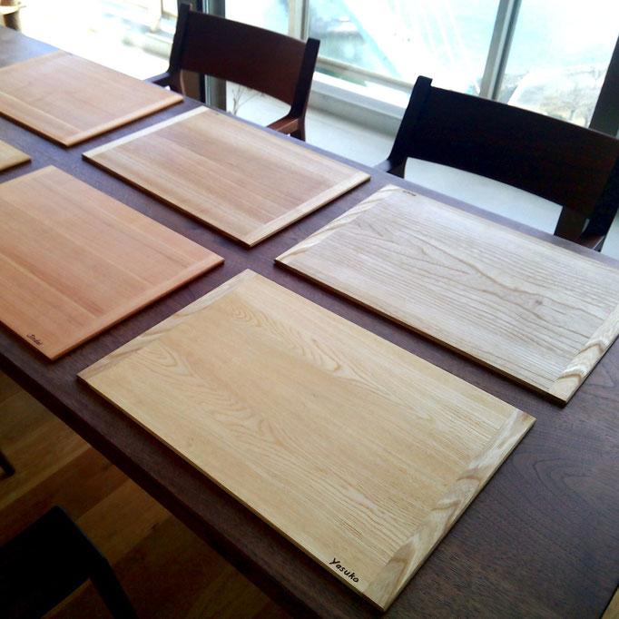 木製ランチョンマット(江東区・F様邸)