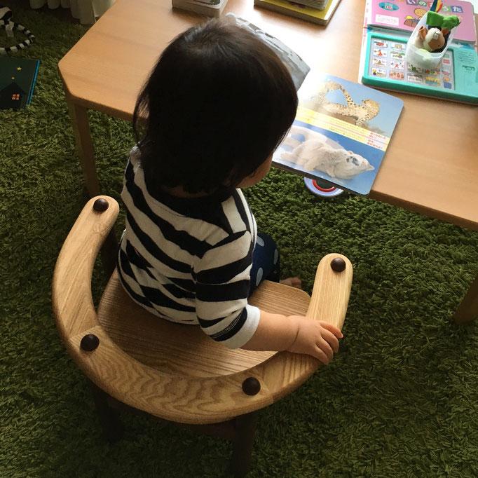 U字の子供椅子(K様邸)