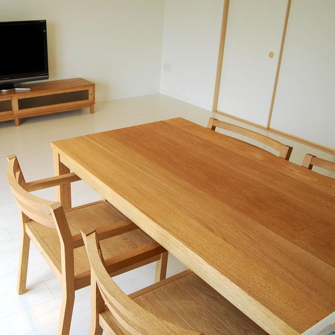 シンプルダイニングテーブルセット(八王子市・S様邸)