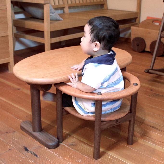 U字の子供椅子&豆型テーブル(S様)