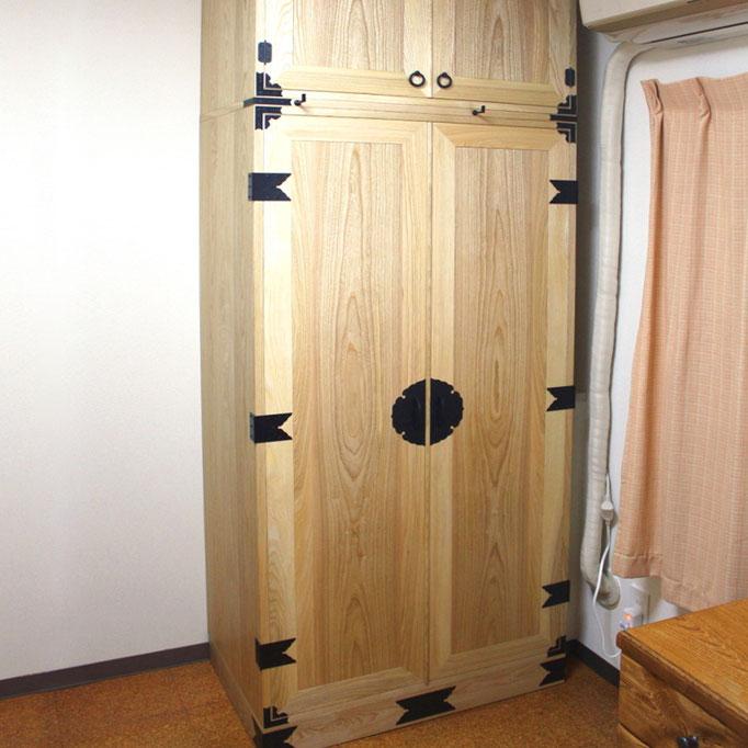 和箪笥の雰囲気をもたせたクロゼット収納(藤沢市・K様邸)