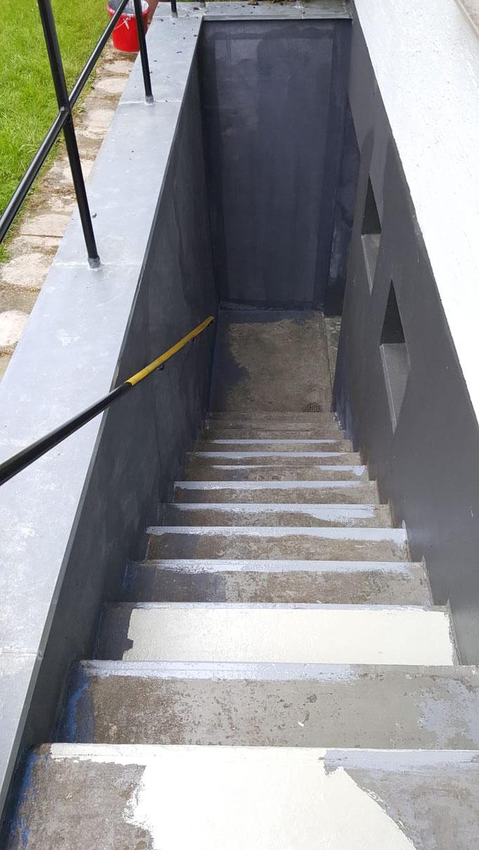 Treppensanierung vorher