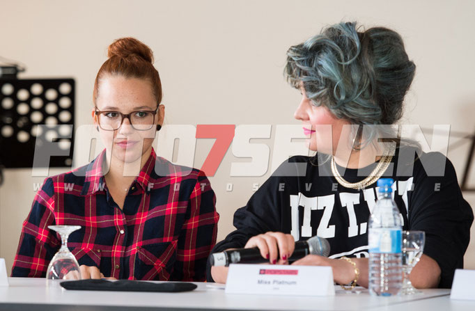 Popstars Akademie • Pressetermin • Seven