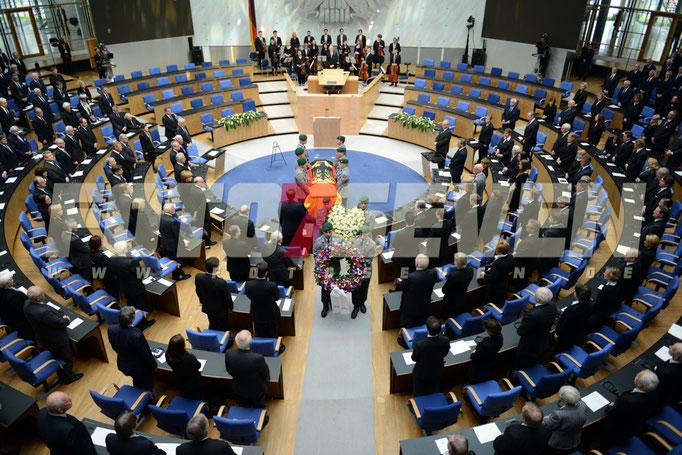 Staatsakt für Hans-Dietrich Genscher Bundesminister a. D.,