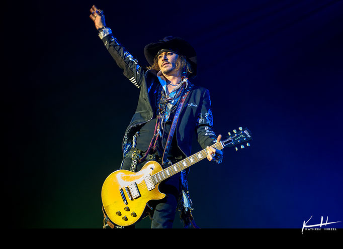 Hollywood Vampires | Johnny Depp @ Samsung Hall Dübendorf