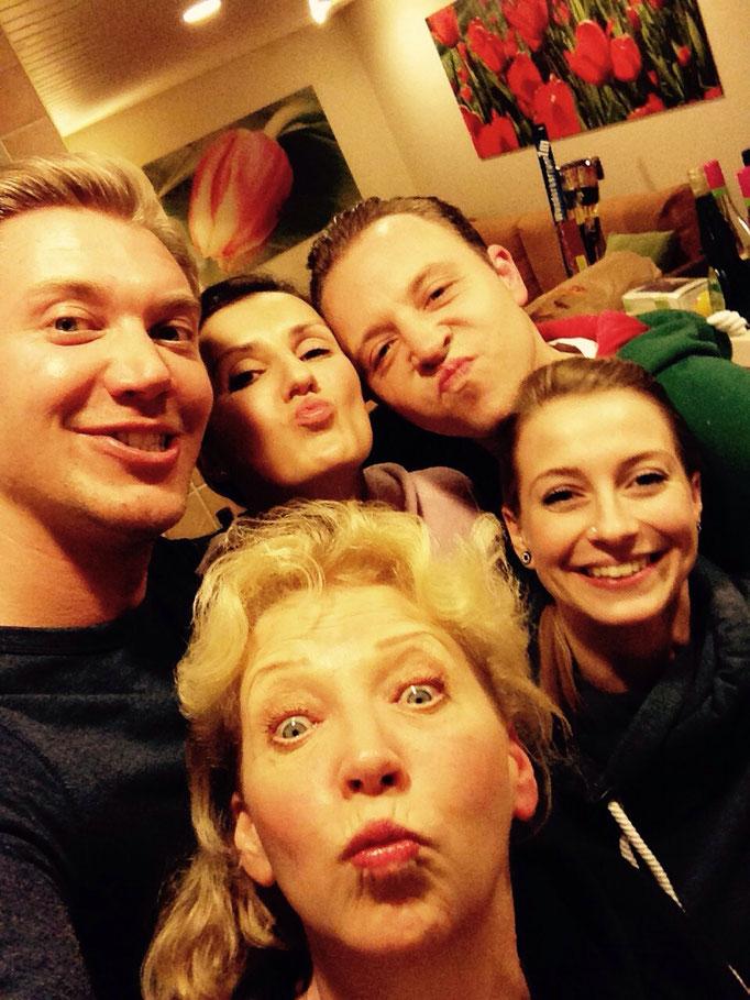 1. Januar 2016....Muddi und all ihre lieben Kinder