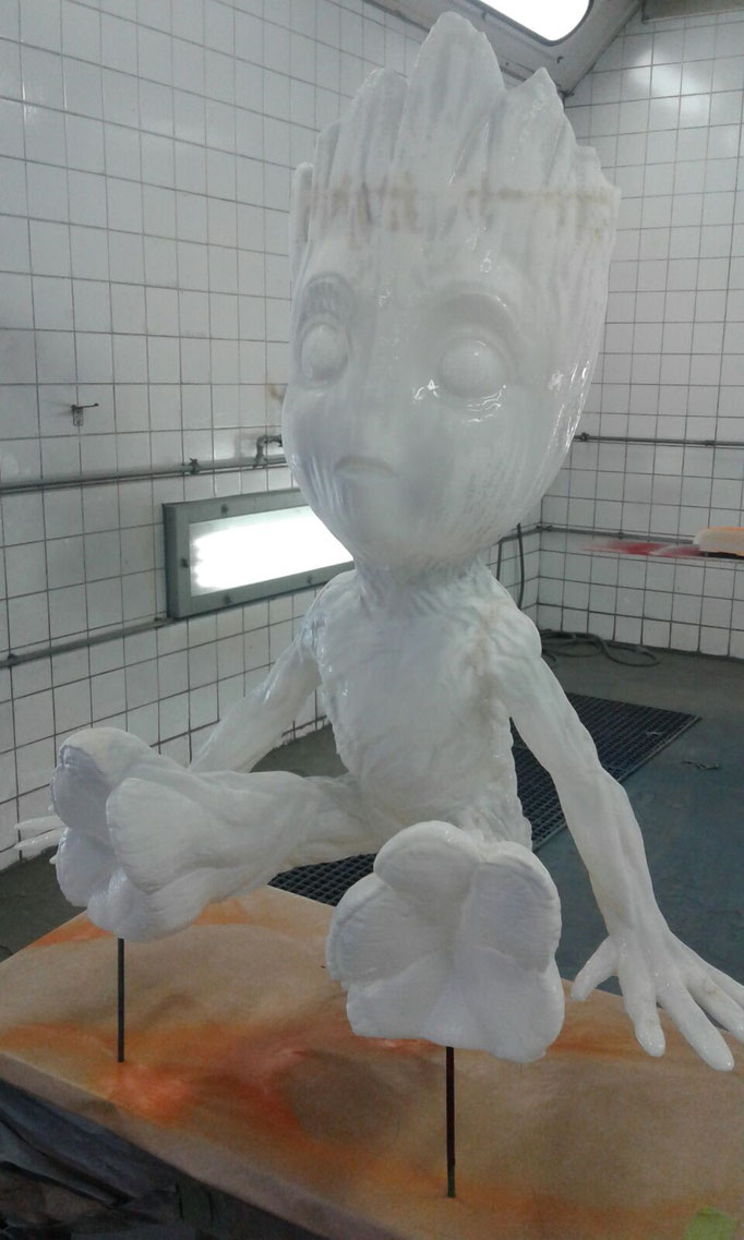 Groot - 3D Druck - Airbrush Design