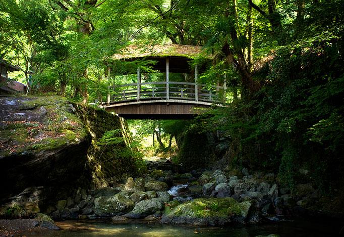 大洲市河辺地区御幸の橋