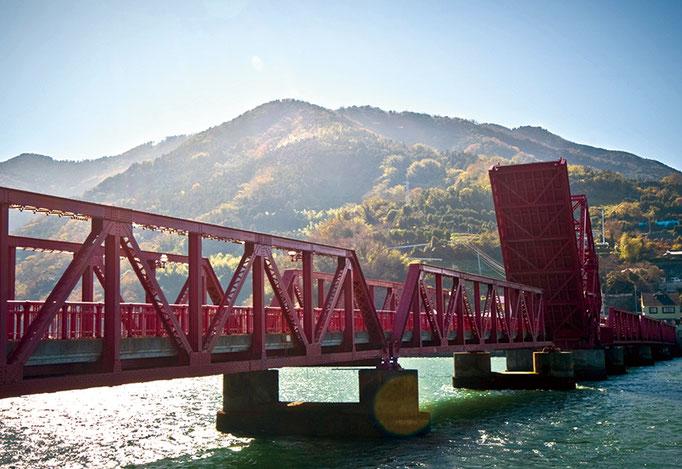 大洲市長浜大橋(国指定重要文化財)
