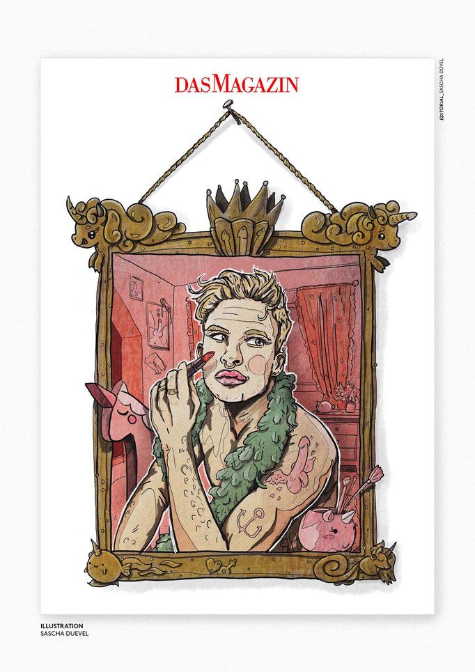 Sascha Düvel Illustration - Editorial Illustrator Münster