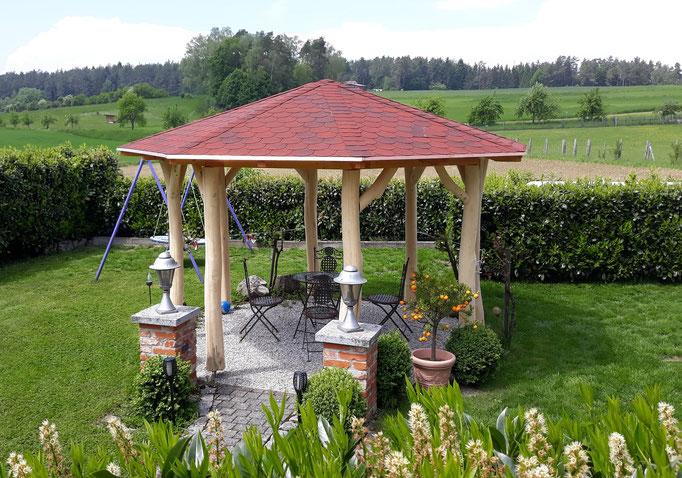 8-Eck Pavillon mit individuellen Maßen