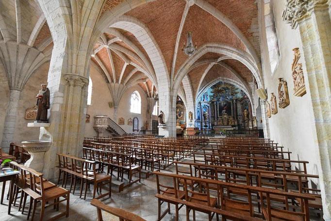 Eglise Ste Catherine de Montaut
