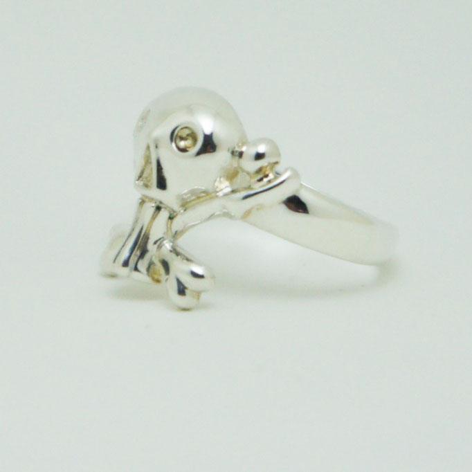 funny skull ring ¥20,000