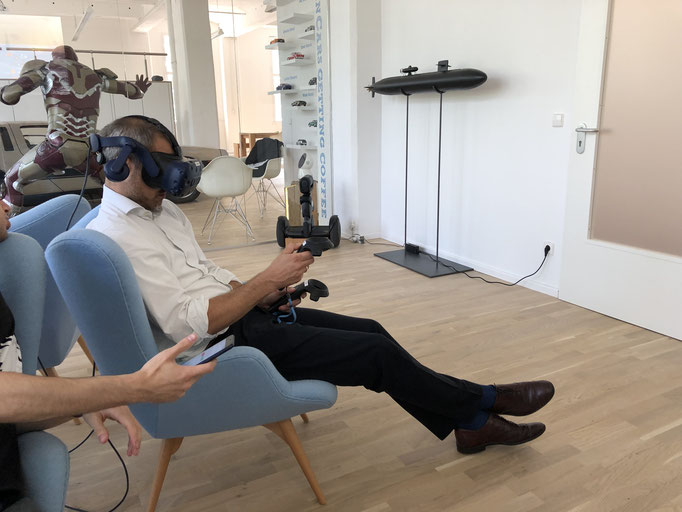 VR Seminar Teilnehmer