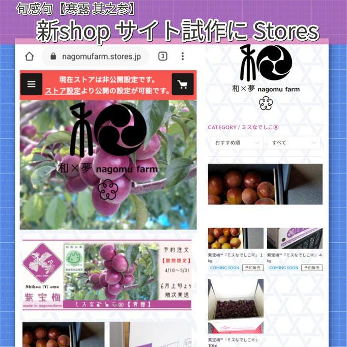 旬感句 【寒露 其之参】 『新shop サイト試作に Stores』