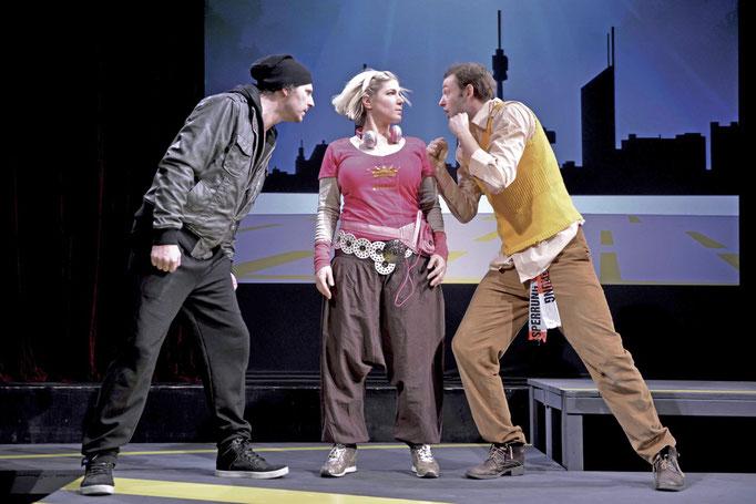 Stadt der Hunde. Volkstheater/Hundsturm Wien 2013. Foto: Stefan Röhrle