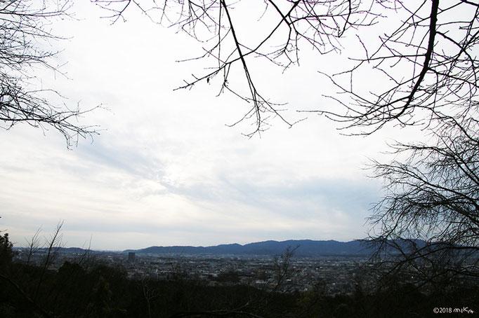四ツ辻付近(稲荷山)