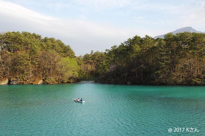 磐梯山と五色沼