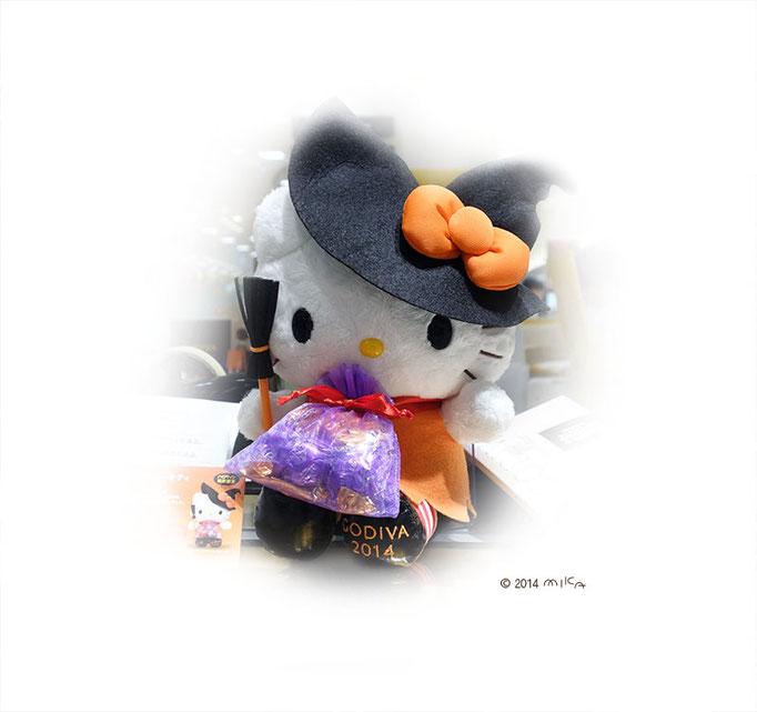 ハロウィンのキティちゃん(GODIVA)2014年