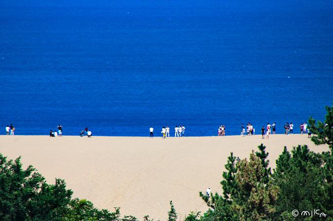 鳥取砂丘と浦富海岸