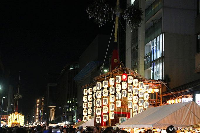 祇園祭宵山の様子(歩行者天国)