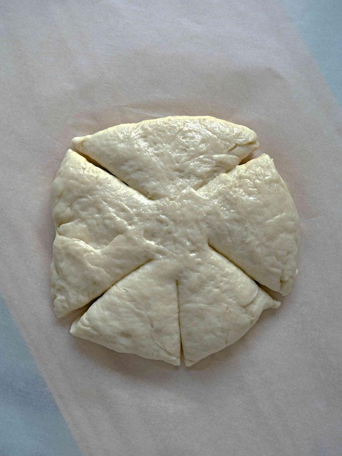 Rezept für einfache Weckmänner aus Hefeteig