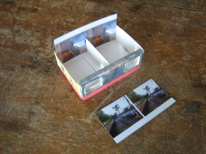 立体写真を見てみよう 2枚の写真を撮影して作る3Dスコープ。どんな写真をとろうかな。 500円