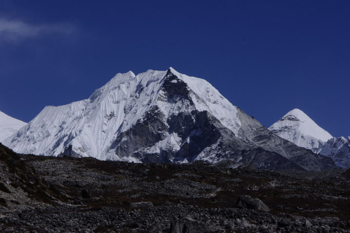 Island Peak (Imja Tse) von Chuckung Everest-Region, Khumbu Valley