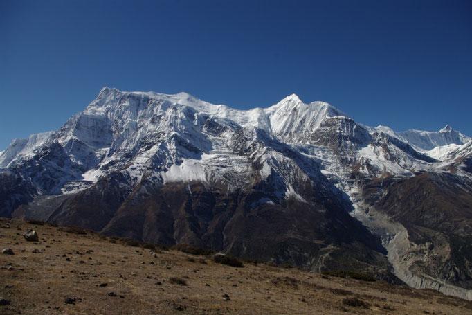 Annapurna Range von Manang, Ice Lake