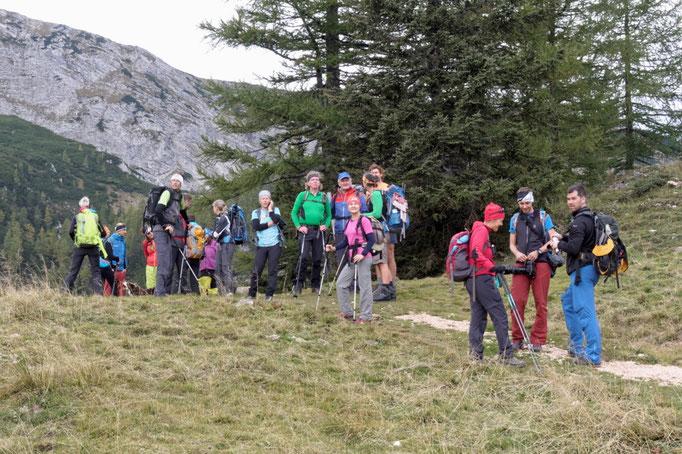 24 Stunden Wanderung am Hals Sattel zur Wurzeralm