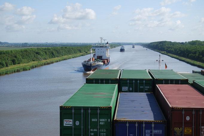 Im Nord-Ostseekanal