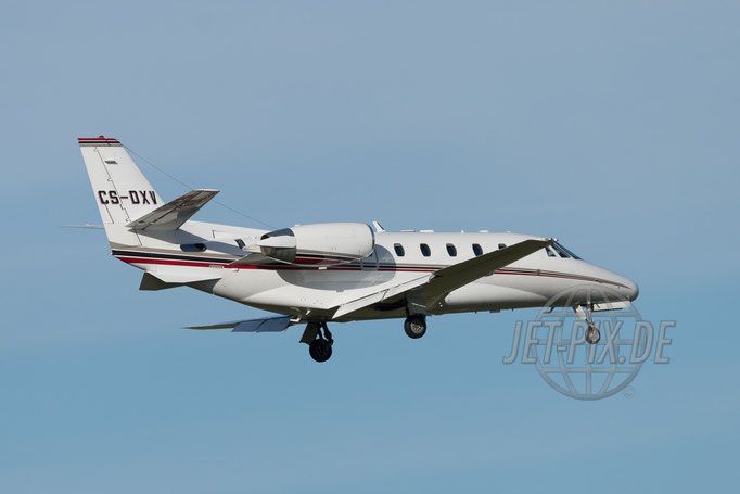 CS-DXV NetJets Europe Cessna 560XL Citation 2017 04 30 ZRH