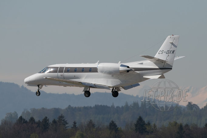 CS-DXW NetJets Europe Cessna 560XL Citation 2017 04 30 ZRH