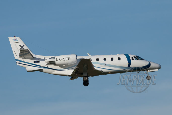 LX-SEH Luxaviation Cessna 560XL Citation XLS 2017 04 30 ZRH