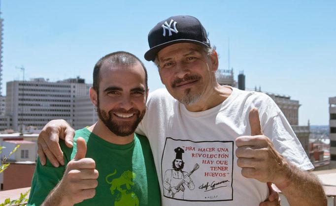 Con Jerry González