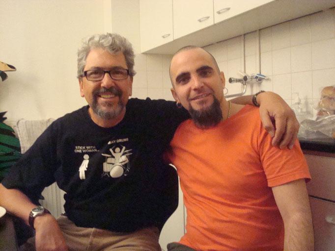 Con Luis Conte