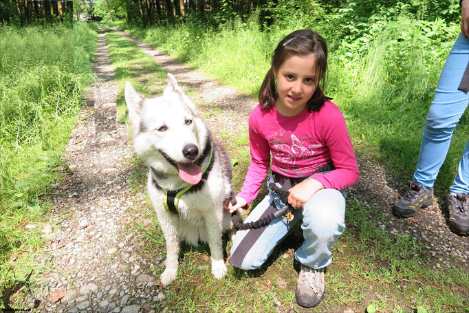 Borea und ihr Lieblingsmädchen Annina