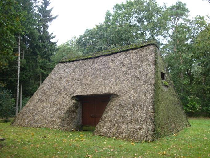 2012 - Lüneburger Heide: Historischer Schafstall
