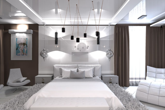 Частный дизайнер интерьера, портфолио, дизайн интерьера загородного дома, современная классика
