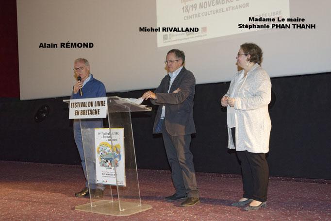 Inauguration du Festival du Livre en Bretagne de Guérande 2017