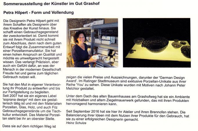 soprana design im Homberger 08/2017, 09/2017