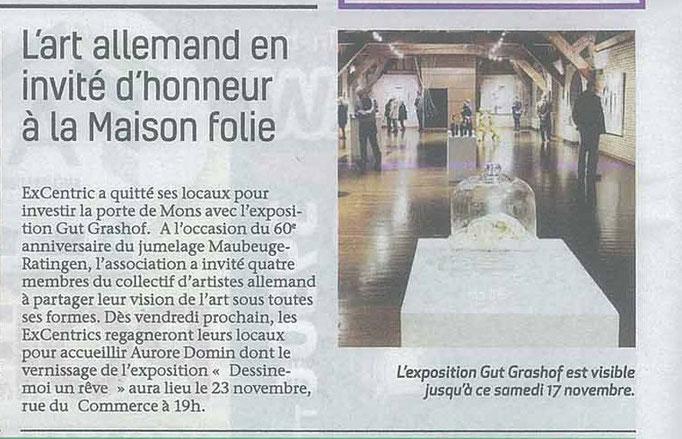 Ausstellung in Maubeuge
