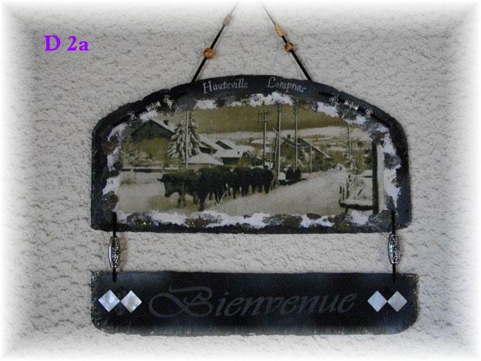 D 2a  Chasse neige avec les boeufs route de Tenay Hauteville