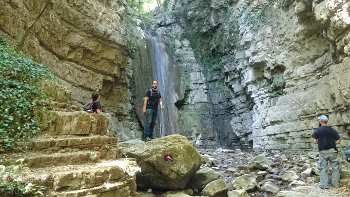 La cascata più conosciuta, sul Sentiero n.3