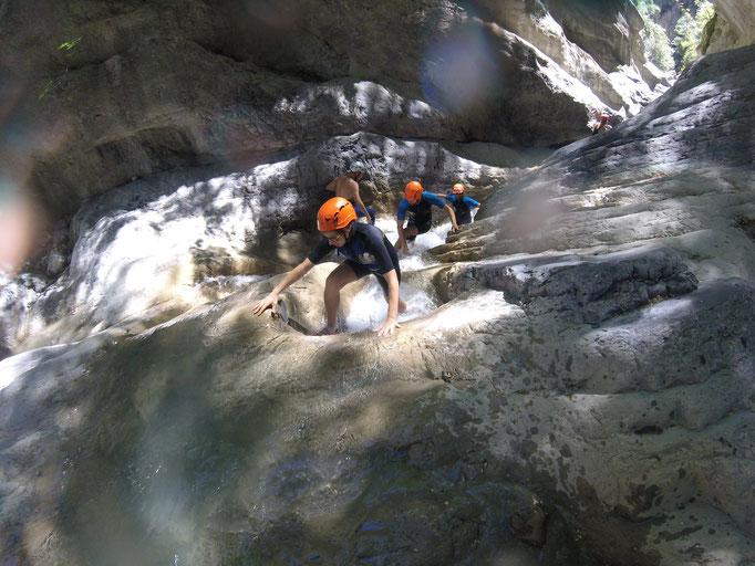 Risalendo il torrente
