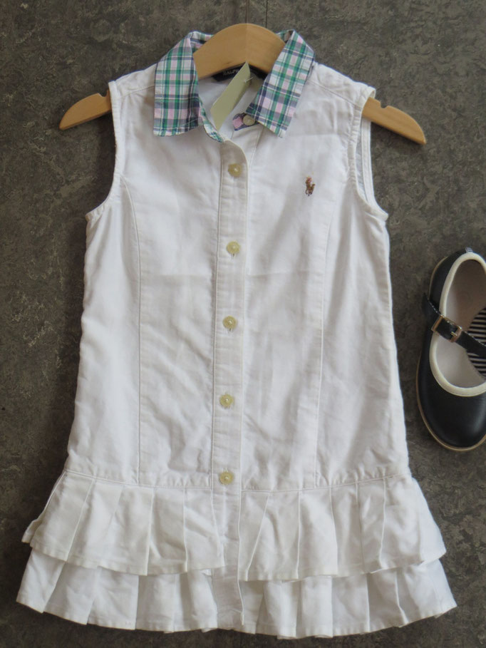Dress Ralph Lauren - 3Y - 39,50 chf / Shoes - Petit Bateau - 25 - 34,- chf - Second Hand Zürich
