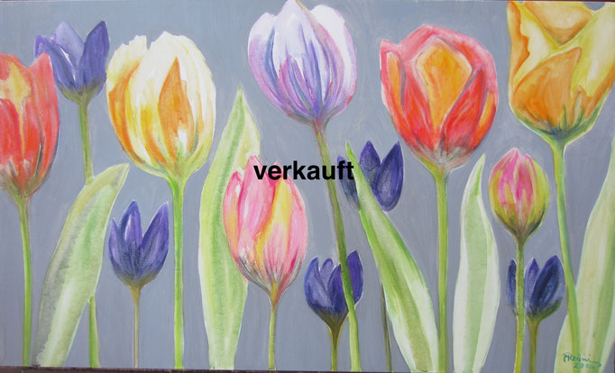 Tulpen, 100 x 60 cm, Nr. 645