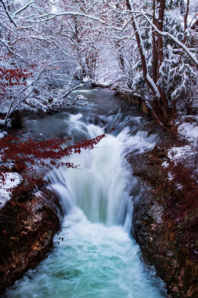 Mike Wolf Lichtbildkunst, Wasserfall, Langzeitbelichtung, Geislingen an der Steige, Lichtbildkunst