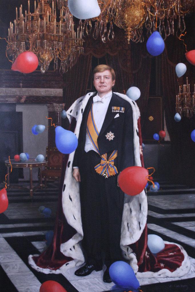 De koning viert feest!